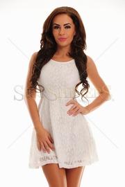 rochie de seara ieftina alba