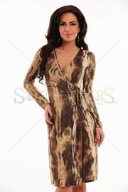 rochie animal print eleganta