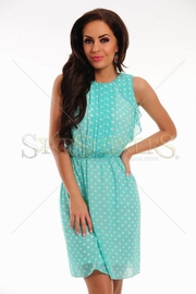 rochie cu buline de vara