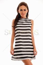 rochie cu dungi orizontale