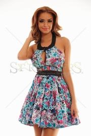 rochie cu imprimeu floral eleganta