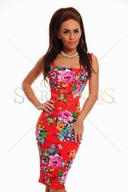 rochie cu imprimeu floral ieftina