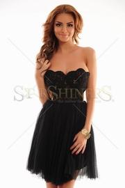 rochie cu tul de bal