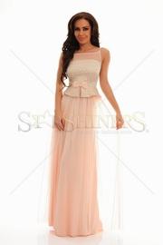 rochie cu voal de ocazie