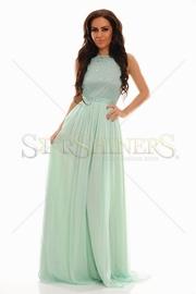 rochie cu voal eleganta