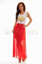 rochie cu voal lunga