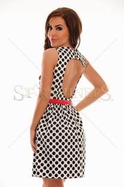 rochie de ocazie cu buline