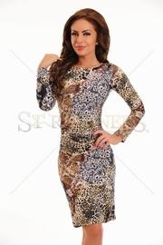 rochie leopard de ocazie