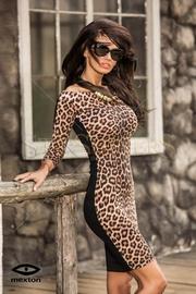 rochie leopard de seara