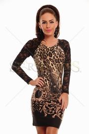 rochie leopard eleganta