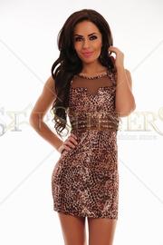 rochie leopard ieftina