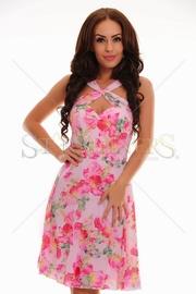 rochie de vara roz