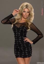 rochie leganta scurta ieftina