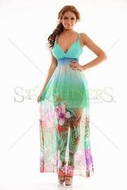 rochie lunga de vara eleganta