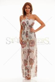 rochie lunga de vara vaporoasa