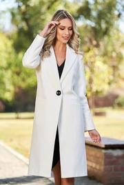 palton dama crem