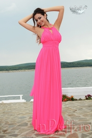 rochie roz de banchet