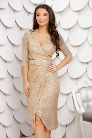 rochii aurii de revelion