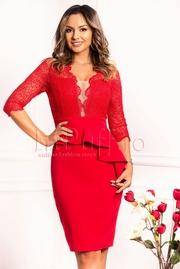 rochii de revelion rosii