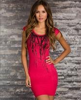 rochii tricotate rosii