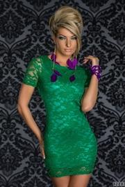 rochie din danteala verde