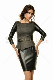 rochie din piele office