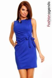 rochie tul albastra