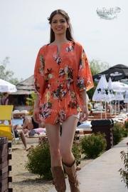 rochie scurta de plaja