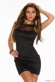 rochie negra sub 100 ron