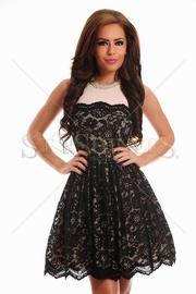 rochie de toamna din dantela