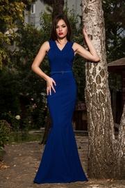 rochie sirena albastra