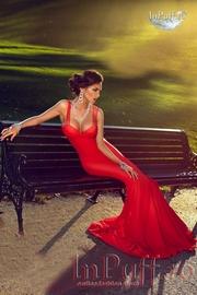 rochii banchet rosii lungi sirena