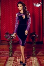 rochii elegante din catifea si dantela