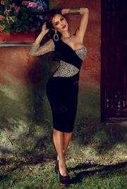 rochii elegante din catifea
