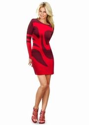 rochii elegante scurte cu maneca lunga