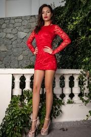 rochii scurte de club rosii