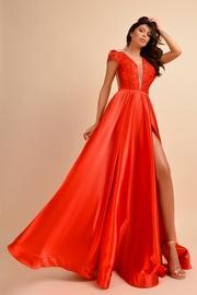 rochie de seara sireana rosie online