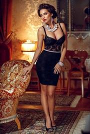 rochii negre elegante