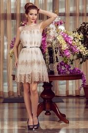 rochie cununie civila alba