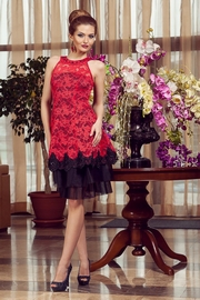 rochie cununie civila rosie