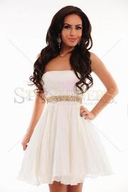 rochii de cununie civila albe