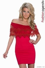 rochii de nunta rosii scurte