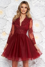 rochii domnisoare de onoare din voal