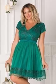 rochii domnisoare de onoare verzi