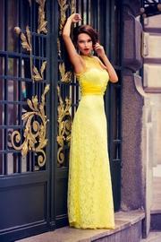 rochii de gala galbene