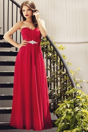 rochii de gala lungi rosii