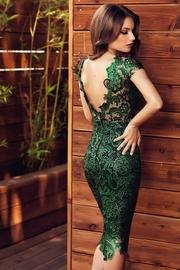 rochii de gala verzi