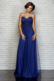 rochii de seara elegante albastre