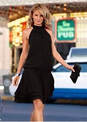 rochii de seara elegante negre