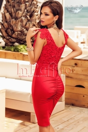 rochii de seara elegante rosii